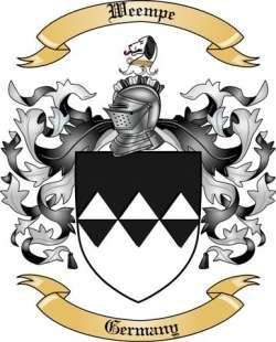 Weempe Family Crest from Germany