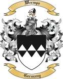 Weempe Family Coat of Arms from Germany