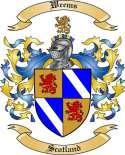 Weems Family Crest from Scotland