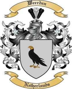Weerden Family Coat of Arms from Netherlands
