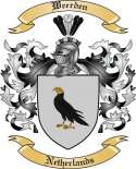 Weerden Family Crest from Netherlands