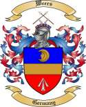 Weers Family Crest from Germany