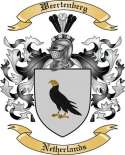 Weertenberg Family Coat of Arms from Netherlands