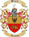 Weigels Family Crest from Germany