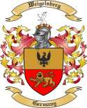 Weigelsberg Family Coat of Arms from Germany