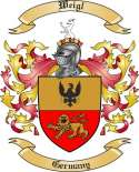 Weigl Family Coat of Arms from Germany