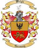 Weigle Family Coat of Arms from Germany