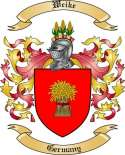 Weike Family Crest from Germany