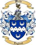 Weild Family Crest from England