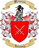 Weimann Family Crest from Germany2