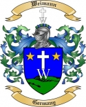 Weimann Family Crest from Germany