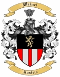 Weinel Family Crest from Austria