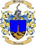 Weinhold Family Crest from Germany