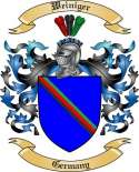 Weiniger Family Crest from Germany