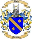 Weis Family Crest from Germany2