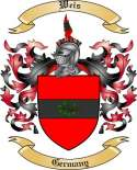 Weis Family Crest from Germany