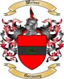 Weiser Family Crest from Germany