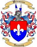 Weismann Family Crest from Germany