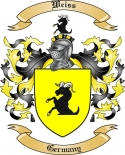Weiss Family Coat of Arms from Germany2