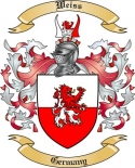 Weiss Family Coat of Arms from Germany