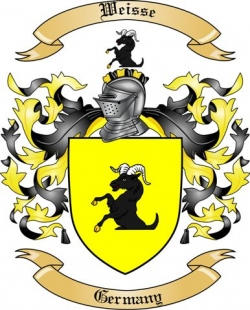 Weisse Family Crest from Germany2