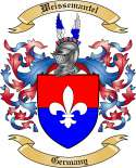 Weissemantel Family Crest from Germany