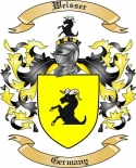 Weisser Family Crest from Germany2