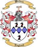 Welbon Family Coat of Arms from England