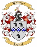 Welborne Family Coat of Arms from England