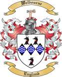 Welbourne Family Coat of Arms from England