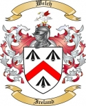 Welch Family Coat of Arms from Ireland