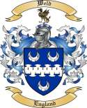 Weld Family Crest from England