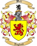 Well Family Coat of Arms from England2