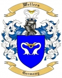 Wellers Family Crest from Germany