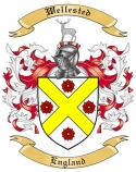Wellested Family Crest from England