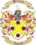 Wellstead Family Crest from England