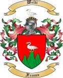 Welti Family Crest from France