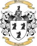 Weltone Family Coat of Arms from England