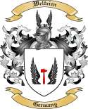 Weltzien Family Coat of Arms from Germany
