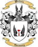 Weltzin Family Crest from Germany