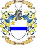Wentzky Family Crest from Germany
