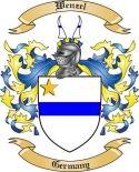 Wenzel Family Crest from Germany