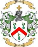 Werden Family Coat of Arms from Scotland