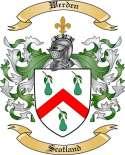 Werden Family Crest from Scotland