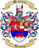 Werhmann Family Crest from Germany