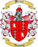 Werner Family Crest from Germany