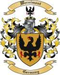 Wernimont Family Coat of Arms from Germany