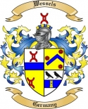 Wessels Family Crest from Germany