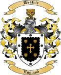 Westbir Family Coat of Arms from England