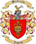 Westbrooke Family Crest from England